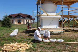 Autenticazione del secondo Stupa di Merigar East