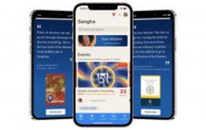 Citazione di Rinpoche nell'app Sangha