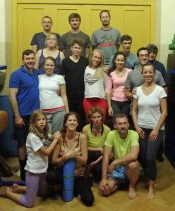 Corso introduttivo di Yantra Yoga a Praga, Repubblica cecoslovacca