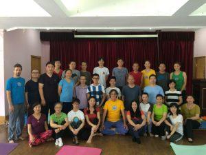 Un fantastico viaggio con <br>Fabio Andrico nello Yantra Yoga