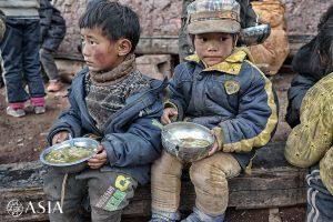 La scuola Wakha – non amano mangiare all'aperto