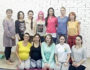 Yantra Yoga per donne in gravidanza a Mosca