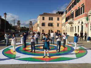 Danza dei Tre Vajra <br>alla Biennale di Venezia