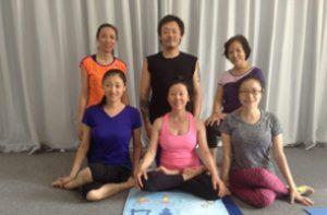Corso di Yantra Yoga<br> a Samtengar, Cina