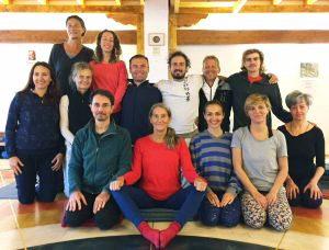 Supervisione dello Yantra Yoga a<br> Merigar West
