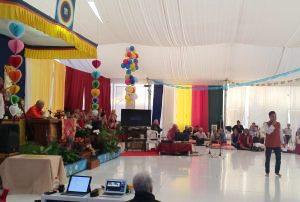 Celebrazione del compleanno di <br>Rinpoche l'8 dicembre 2017 a Dzamling Gar