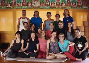Supervisione del secondo livello di <br>Yantra Yoga