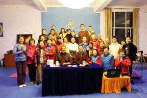 Seminari recenti a Samtengar, Yichun, Cina