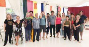 Seminario sulla 'presenza consapevole nel flusso dell'esperienza dei cinque sensi'
