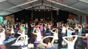 Yantra Yoga al Woodford Folk Festival, Australia