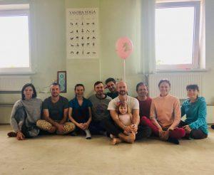 Yantra Yoga a Tobyalling, Kiev, Ucraina