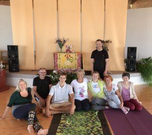 Introduzione allo Yantra Yoga <br>a Dzamling Gar