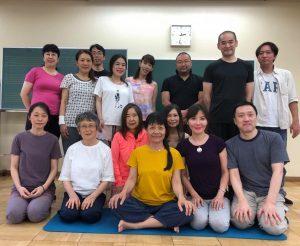 Munselling – Yantra Yoga a Kyoto e Autunno a Tokyo 2019
