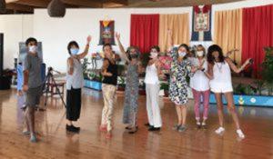 La Danza del Vajra per il<br> Beneficio degli Esseri <br>a Dzamling Gar