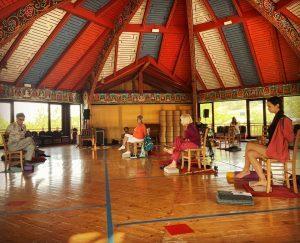 Yoga sulla Sedia a Merigar West