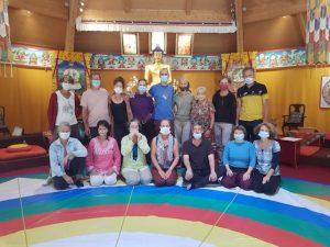 Danza del Vajra a Karmaling in Francia