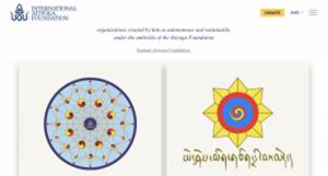 Nuovo sito dell'Atiyoga Foundation