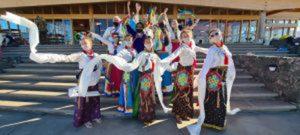Esibizione Danze Khaita durante il Losar a Dzamling Gar