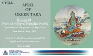 Pratiche online da Tashigar South: aprile di Tara Verde