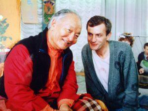 La prima visita di Chögyal Namkhai Norbu in Russia