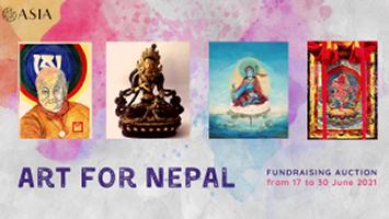 ART FOR NEPAL: speciale raccolta fondi