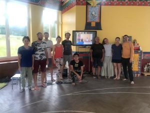 Yantra Yoga con Fabio Andrico a Kunsangar South