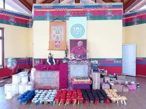 Riempimento dello Stupa con Migmar Tsering dal vivo via Zoom