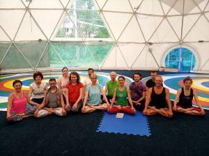 Yantra Yoga con Mira Mironova a Kunsangar North